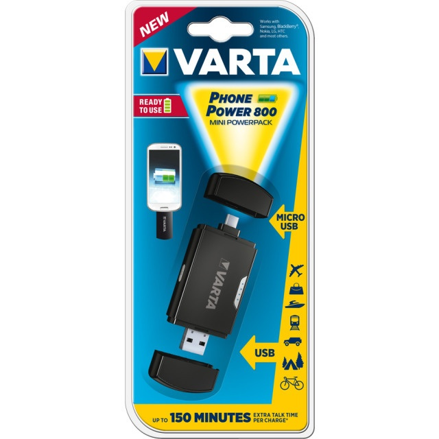 Varta Phone Power 800 Micro USB Adapter