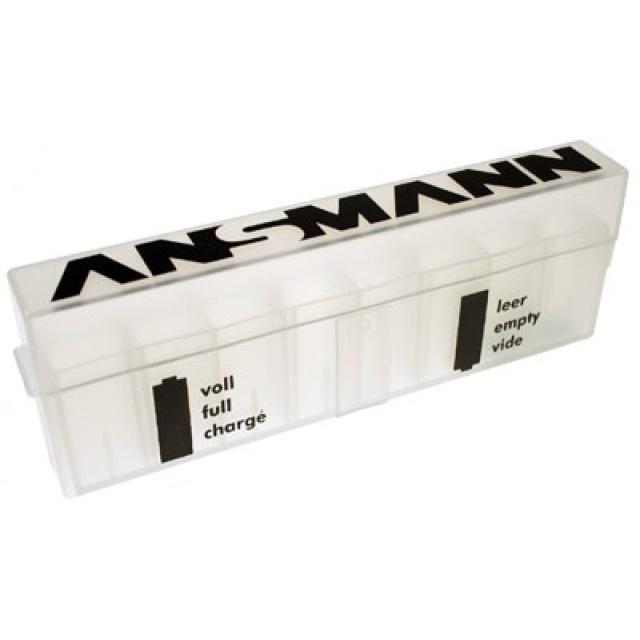 Ansmann Akku-Aufbewahrungsbox für bis zu