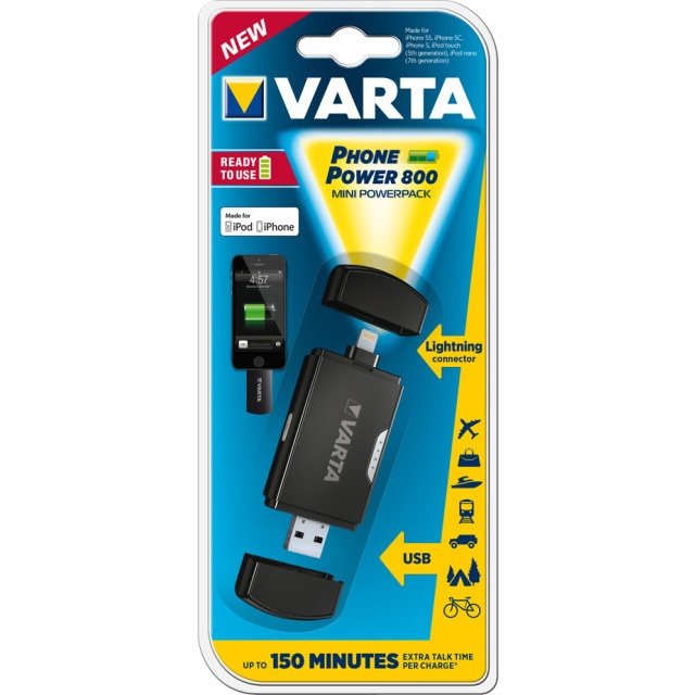 Varta Phone Power 800 Lightning Adapter
