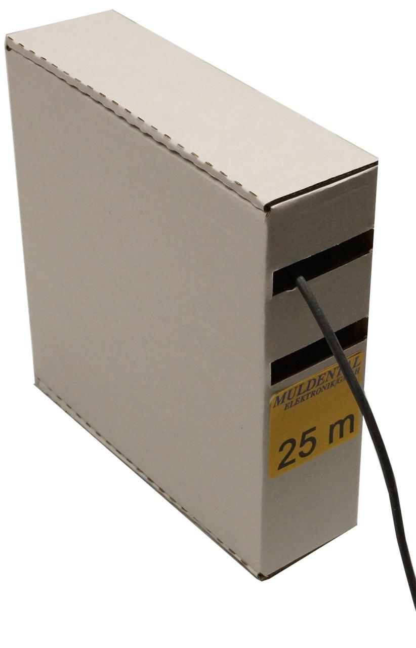 Silikon- Lize 1,5 ²mm schwarz